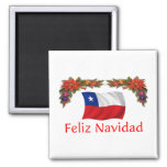Chile Christmas Refrigerator Magnets