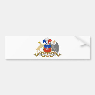 Chile Coat of arms CL Bumper Sticker