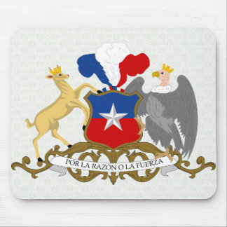 Chile Coat of Arms detail Mouse Pad