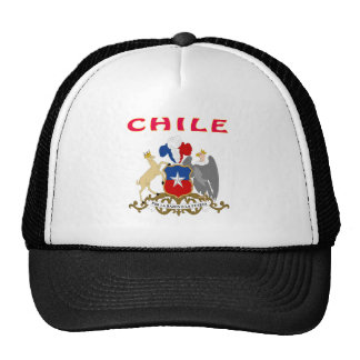 Chile Coat Of Arms Hat