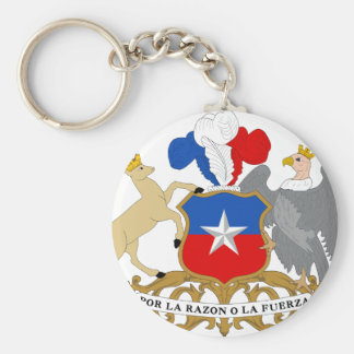Chile Coat of Arms Key Chain