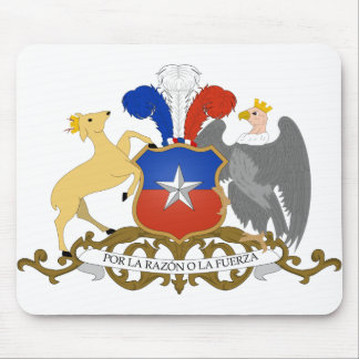 Chile Coat of Arms Mouse Pad