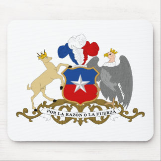 Chile Coat Of Arms Mouse Pads