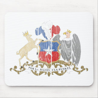 Chile Coat Of Arms Mousepads