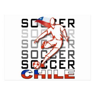 Chile Copa America Postcard