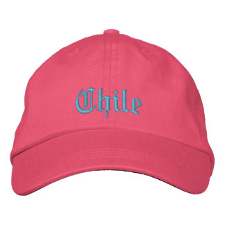Chile Custom hat