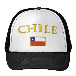 Chile de oro gorras de camionero
