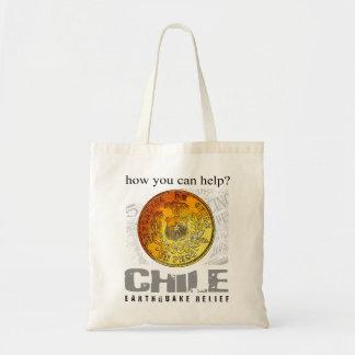 Chile Earthquake Tote Bag