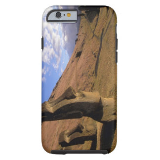 Chile, Easter Island. Hillside with Moai iPhone 6 Case