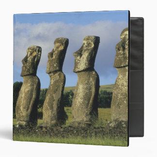 Chile, Easter Island, Rapa Nui, Ahu Akivi Binder