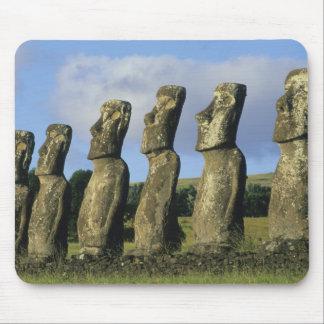 Chile, Easter Island, Rapa Nui, Ahu Akivi Mouse Pad