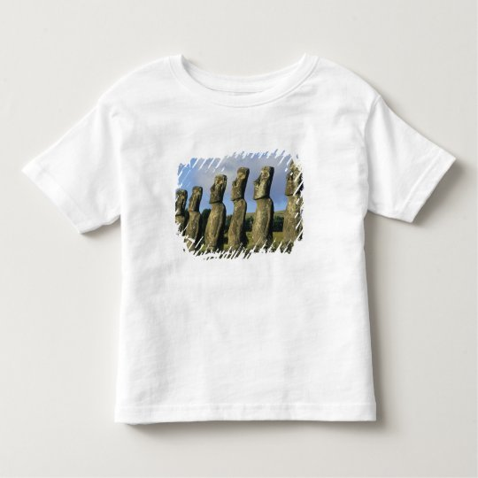 Chile, Easter Island, Rapa Nui, Ahu Akivi Toddler T-shirt