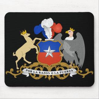 chile emblem mouse pads