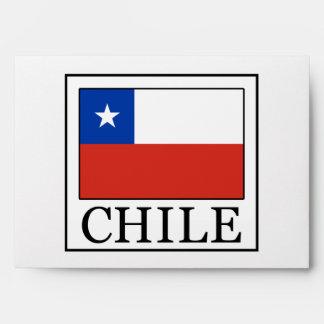 Chile Envelope