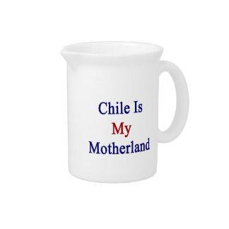 Chile es mi patria jarras