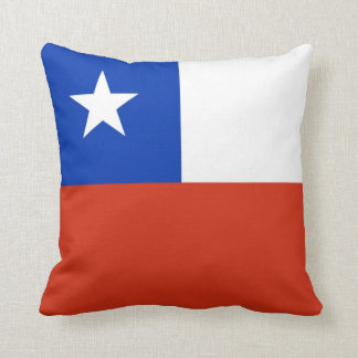 Chile Flag American MoJo Pillow