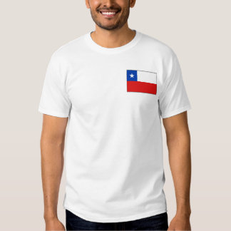 Chile Flag and Map T-Shirt