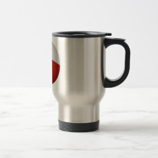 Chile Flag Ball Travel Mug