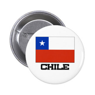 Chile Flag Pinback Buttons