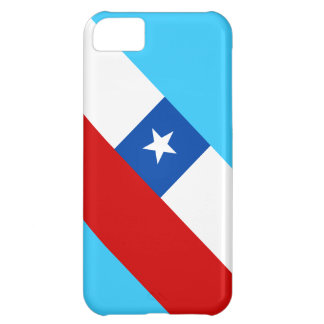 Chile Flag Changeable Background Color Cover For iPhone 5C
