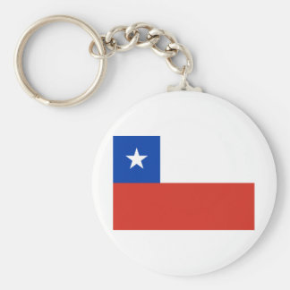 Chile Flag CL Keychain