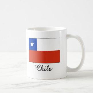 Chile Flag Design Classic White Coffee Mug