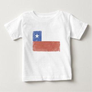 Chile Flag distressed Tshirts