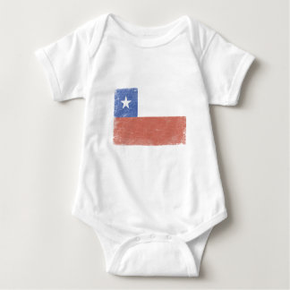 Chile Flag distressed T-shirt
