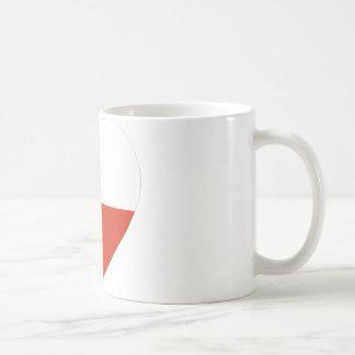 Chile Flag Heart Coffee Mug