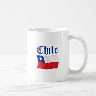 Chile Flag Classic White Coffee Mug