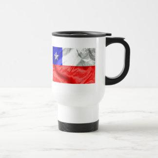 Chile Flag 15 Oz Stainless Steel Travel Mug