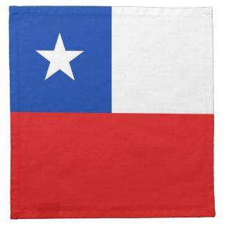 Chile Flag Napkin
