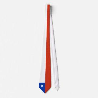 Chile Flag Neck Tie
