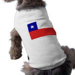 Chile Flag Pet Tee