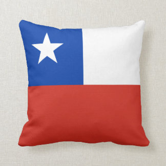 Chile Flag pillow