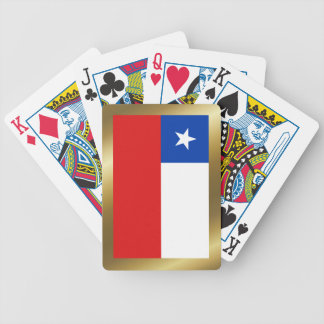 Chile Flag Playing Cards
