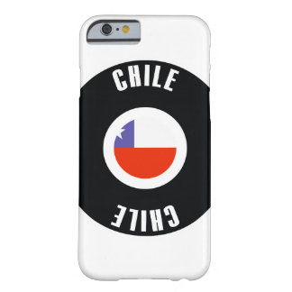Chile Flag Simple Barely There iPhone 6 Case