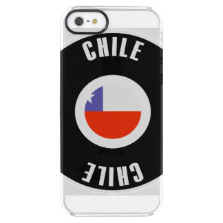 Chile Flag Simple Clear iPhone SE/5/5s Case