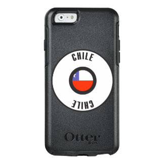 Chile Flag Simple OtterBox iPhone 6/6s Case