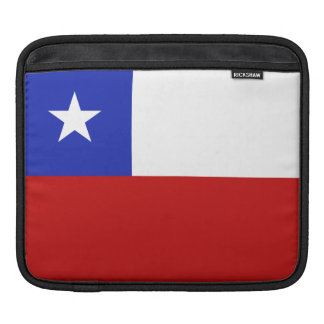 Chile Flag Sleeve For iPads