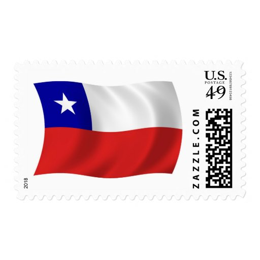 Chile Flag Stamps