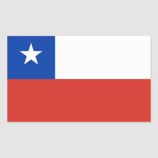 Chile Flag Stickers Chilean Flag