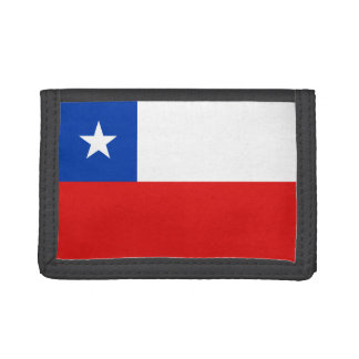 Chile Flag Wallet
