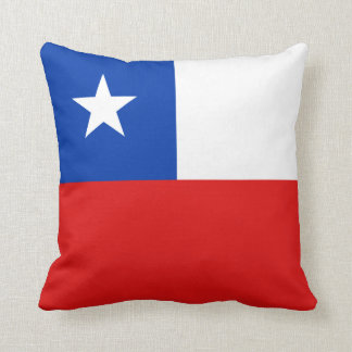 Chile Flag x Flag Pillow