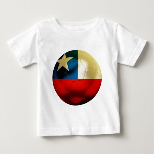 Chile Football Baby T-Shirt