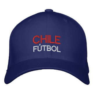 CHILE FUTBOL EMBROIDERED BASEBALL CAP