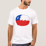 Chile Gnarly Flag T-Shirt