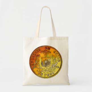 Chile Gold Coin Tote Bag