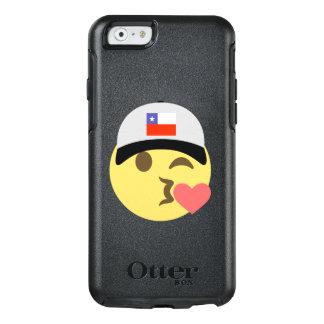 Chile Hat Kiss Emoji OtterBox iPhone 6/6s Case