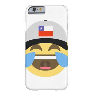 Chile Hat Laughing Emoji Barely There iPhone 6 Case